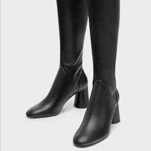 Zara Shoes - Zara Over the knee High Heel Boots 7009/201